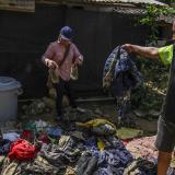 Arroyo arrasó pertenencias de cuatro familias Mokaná