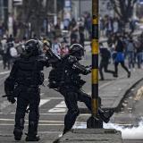 """Secretario general de la ONU ve """"con preocupación violencia y vandalismo"""" en Colombia"""