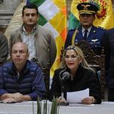Presidenta (i) de Bolivia rechaza intento de dar amnistía a Morales