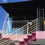 Casa que se incendió y donde residían los fallecidos.