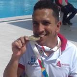 Luis Patiño obtiene oro en natación en los Paranacionales