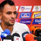 Marlon Piedrahíta durante la rueda de prensa.