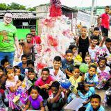 Sorpresa navideña en Villa Caracas