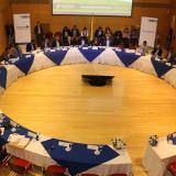Reunión de la comisión de concertación salarial realizada ayer en Bogotá.