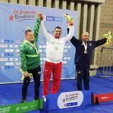 Atlántico logra oros en atletismo y baloncesto en los Paranacionales