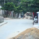 En este sector de la calle 84B con la carrera 9k del barrio Sourdis fue asesinado Elkin Enrique López Martínez.