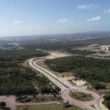 La nueva vía tiene una longitud de 1 kilómetro.