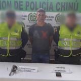 Elver Díaz Sarmiento, capturado.