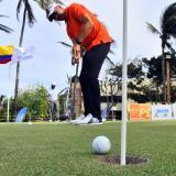 Comienza la fiesta del golf en Lagos de Caujaral