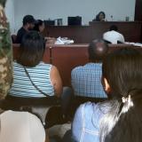 Las audiencias se realizaron en la sala siete del Centro de Servicios Judiciales.