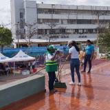 Jornada de embellecimiento en Riohacha.