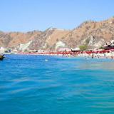 En incidente se registró en Playa Blanca a 15 minutos en lancha del Rodadero.