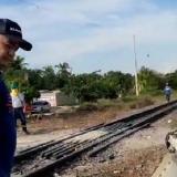 """""""Primero pensé en mi hijo"""", dice médico arrollado por tren"""