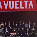 Un aspecto general de la presentación de la Vuelta a España 2020.