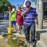 En Soledad 2.000, vecinos piden solución a alcantarillas rebosadas