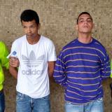 Mario Mejía Prieto y Rafael Henríquez Carrillo, capturados.