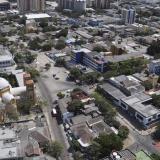Vista aérea de Barranquilla, ciudad en la que, por la temporada, ha aumentado la inseguridad.