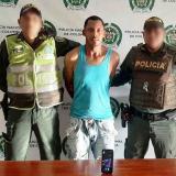 Manuel José Cortes Perez, capturado.