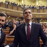 Congreso elige a Sánchez para liderar un gobierno de izquierda en España