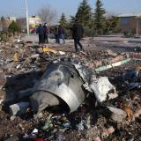 Irán descarta entregar las cajas negras de avión accidentado a EEUU