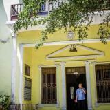 Fachada del Museo Romántico de Barranquilla, cuya sede es en la mansión Freund ubicada en el barrio El Prado.