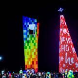 Más de 350 mil personas visitaron árbol de Navidad