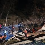 """Avión ucraniano se estrelló cuando regresaba al aeropuerto por un """"problema"""""""