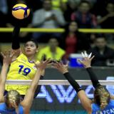 En voleibol, Colombia le dijo adiós al sueño de los Olímpicos