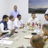 Blel lideró reunión sobre deslizamientos en El Carmen de Bolívar