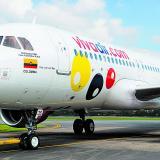Un avión de la aerolínea Viva Air.