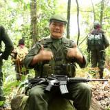 El jefe guerrillero pedido en extradición, Nicolás Rodríguez, alias Gabino.
