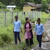 Asha Charti Karki ahora trabaja con una ONG que asesora a jovenes para que eviten tomar decisiones apresuradas.