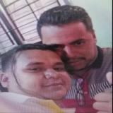 Digno José Palomino y Jorge Díaz Collazos, alias Castor, durante una reunión sostenida en su vivienda en Cabudare, Venezuela.