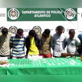 Capturan a diez personas por hurto y venta de drogas en Baranoa y Sabanalarga