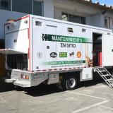 Dozermaq, el camión lubricador de  Agro-Costa que recorre el Atlántico