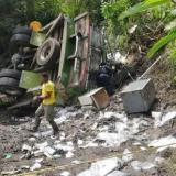 Investigan causas de accidente en Panamericana
