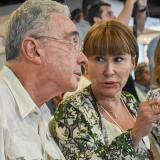Alicia Arango, quien fue la mano derecha del expresidente Álvaro Uribe, pasará del Ministerio del Trabajo a la cartera del Interior a reemplazar a Nancy Patricia Gutiérrez, quien asumirá la Consejería de DDHH.