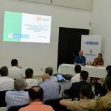 Aspecto de la audiencia que se llevó a cabo este viernes en Barranquilla.
