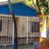 Vivienda donde se presentó el caso de feminicidio por arma blanca de Vivianci Alejandra Blanco Avila.