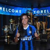 Inter de Milán le dio la bienvenida a Yoreli Rincón