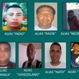 El Indio, el Rasta y el Maza, según la Policía de Cartagena, aparecen entre los más buscados.