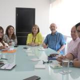 En la reunión se firmó el convenio.
