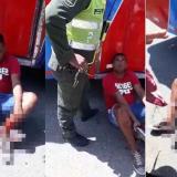 Capturan a asaltantes de buses en Repelón