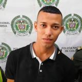 John Jairo Gómez Pérez, alias Pechu, capturado.