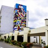 Fachada de la sede de alta complejidad del Hospital Cari.