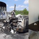 Seis policías heridos deja carga explosiva del ELN en Cesar