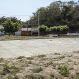 Así luce hoy la cancha del pueblo, el punto de reunión social de los habitantes de El Salado y el epicentro de la masacre el 18 y 19 de febrero del 2000.