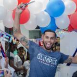 Óscar Muñoz Oviedo está feliz con los logros obtenidos y decidió crear su propio gimnasio en Valledupar.