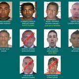 El cartel de los delincuentes más buscados por la Policía del Atlántico.