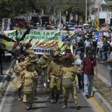 En video   Maestros de la región Caribe marchan por el respeto a la vida